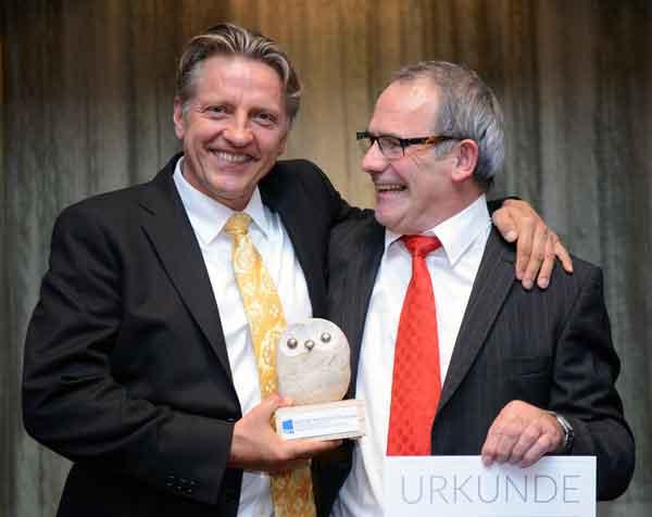BDVT 2015 Preisverleihung: Hans-Jürgen Lenz und Werner Moser