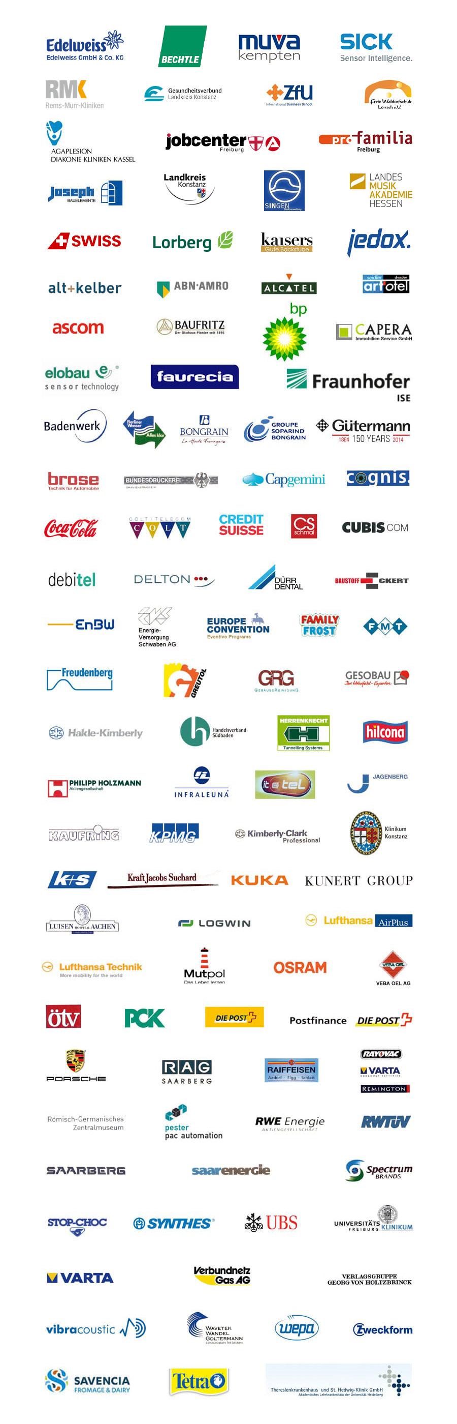 Balance Beratung Kunden Logos